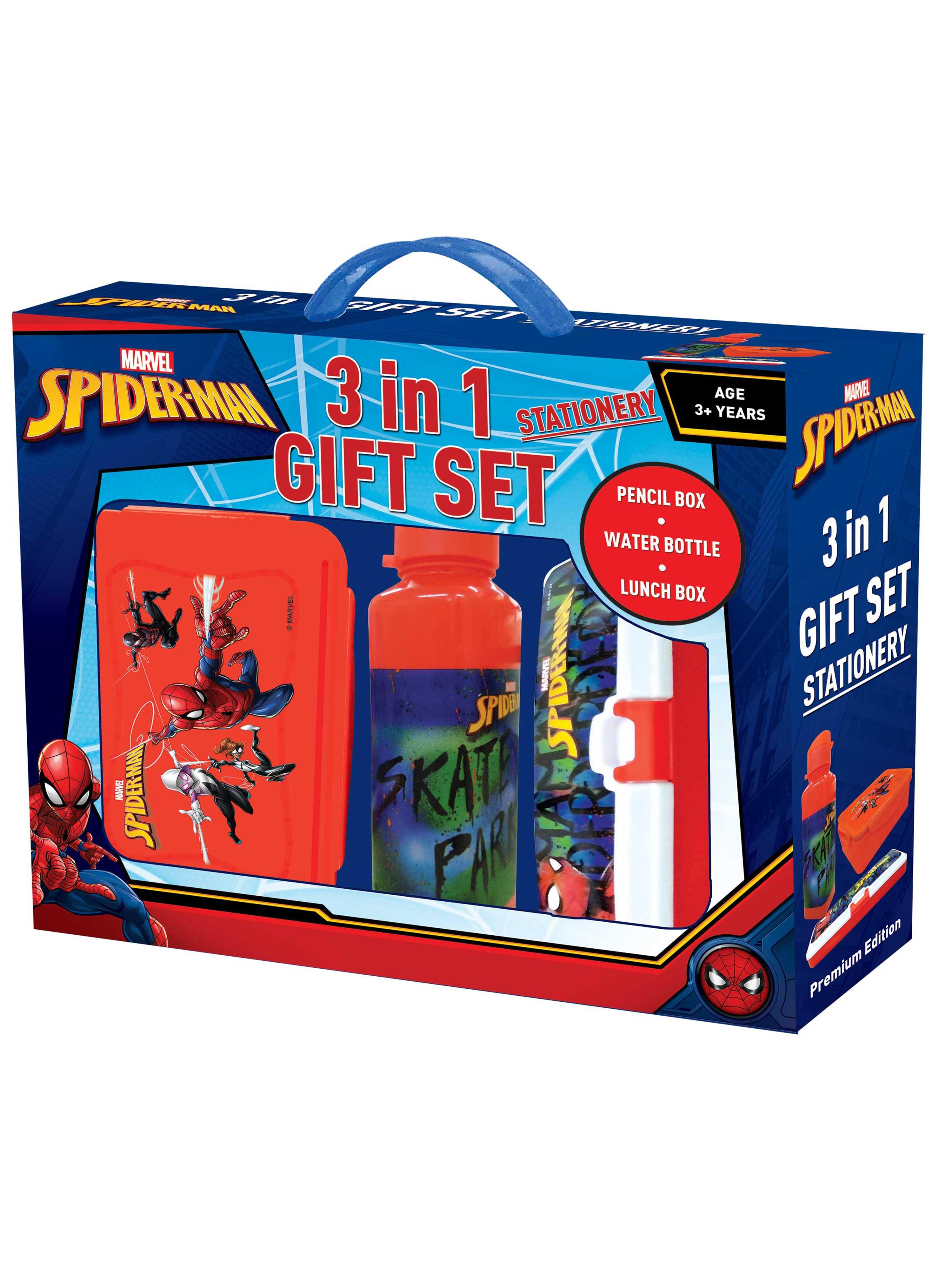 Marvel Spiderman 3 in 1 Gift Set