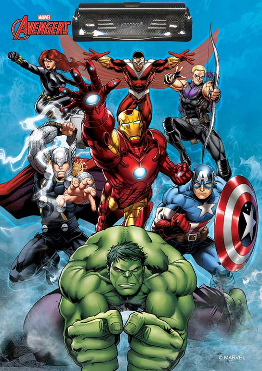 Marvel Avengers Clipboard
