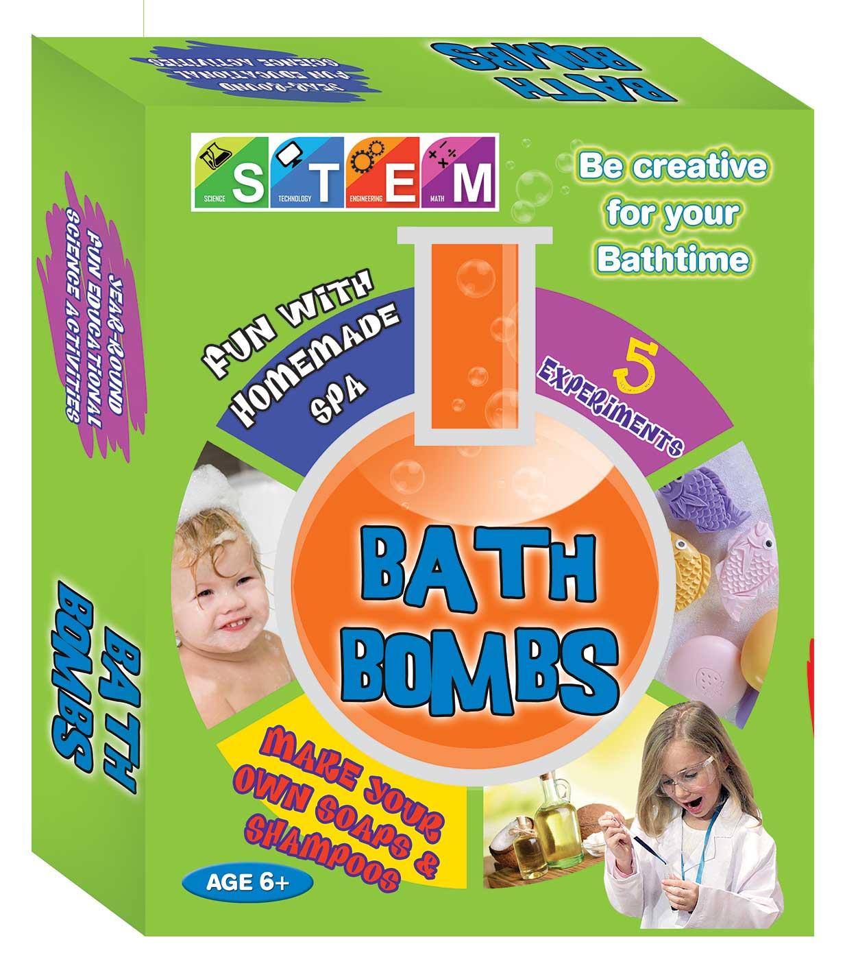 STEM Bath Bombs