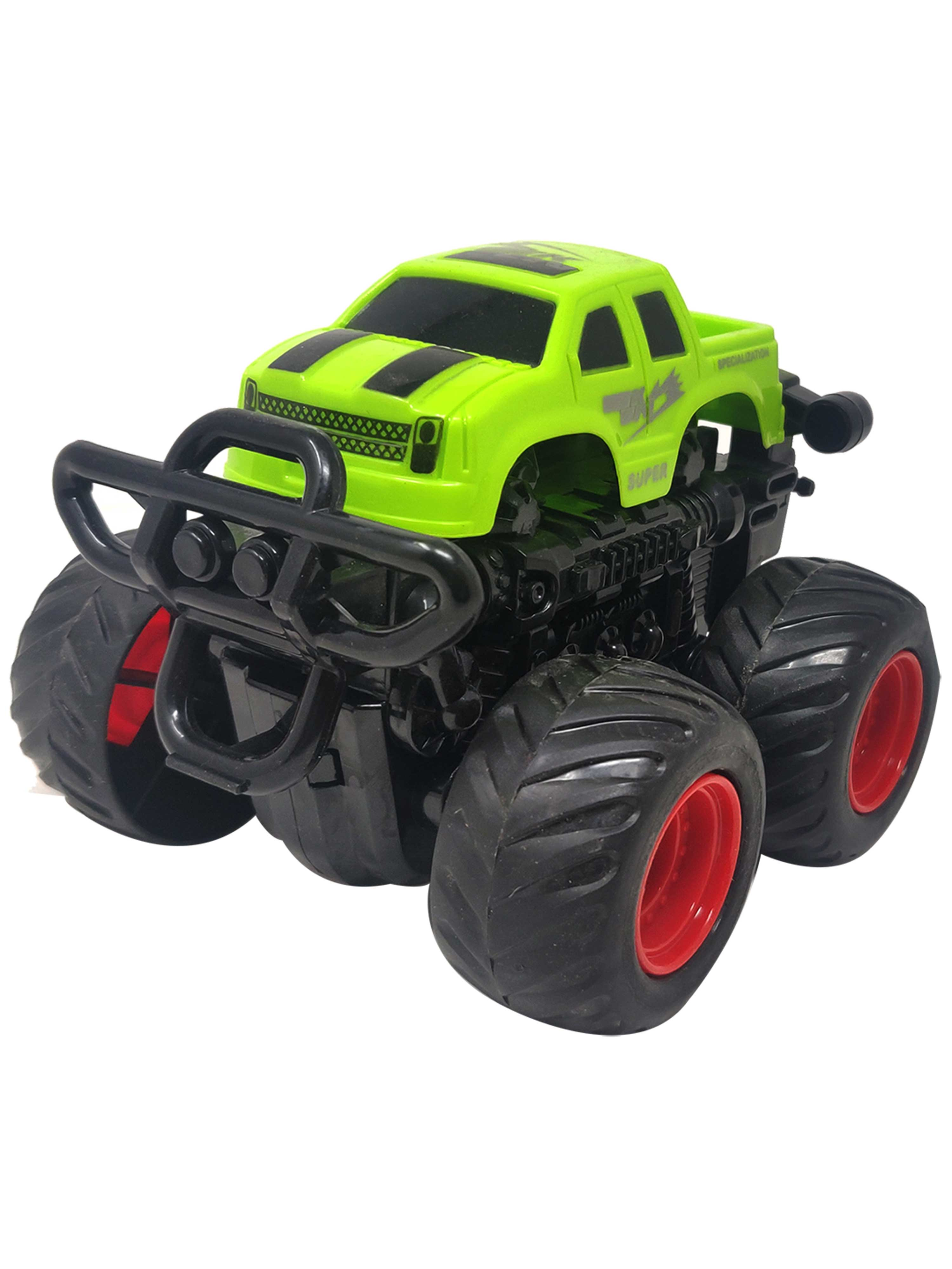 Friction Cars-Truck-Green