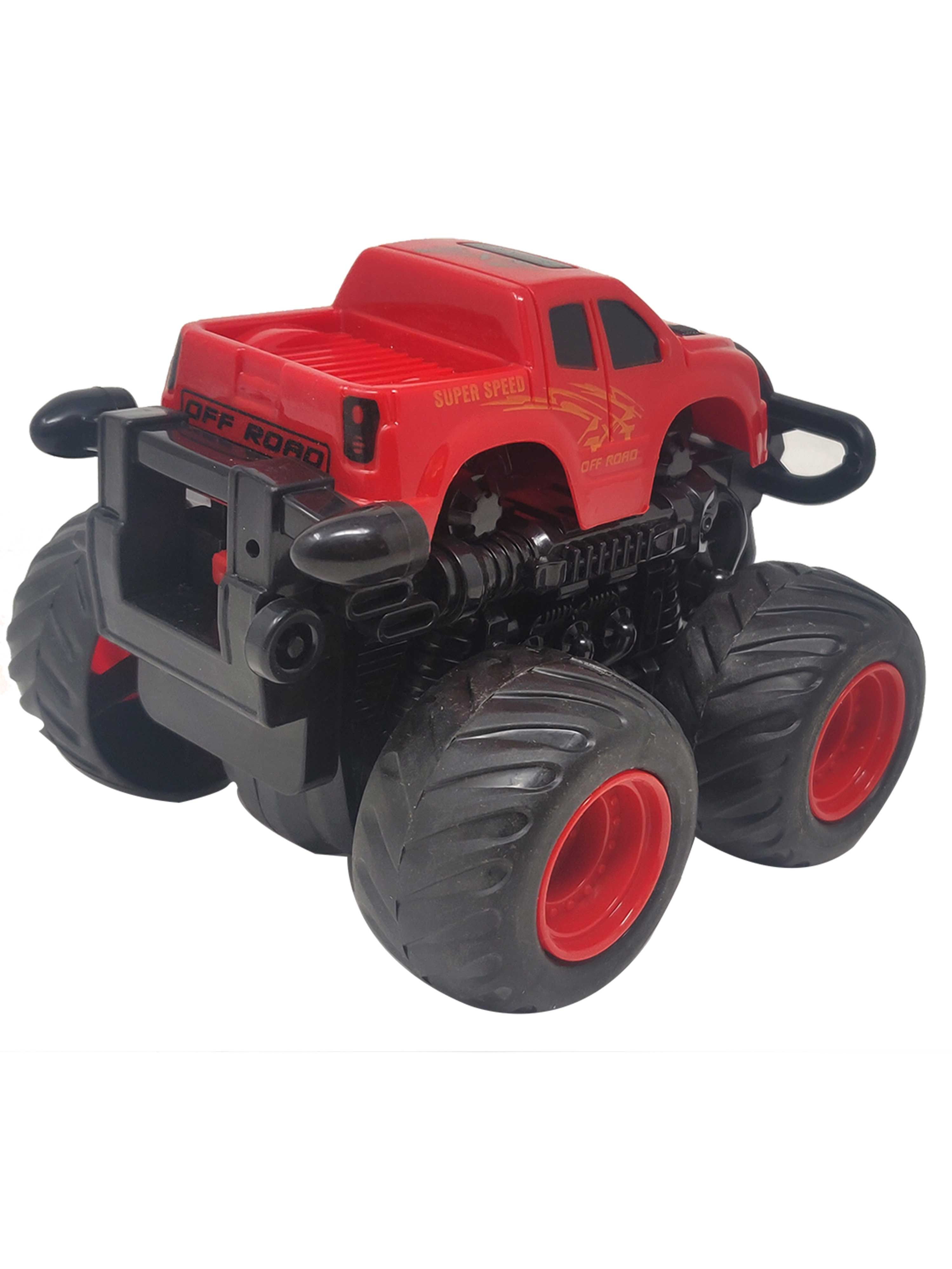 Friction Cars-Truck-Red