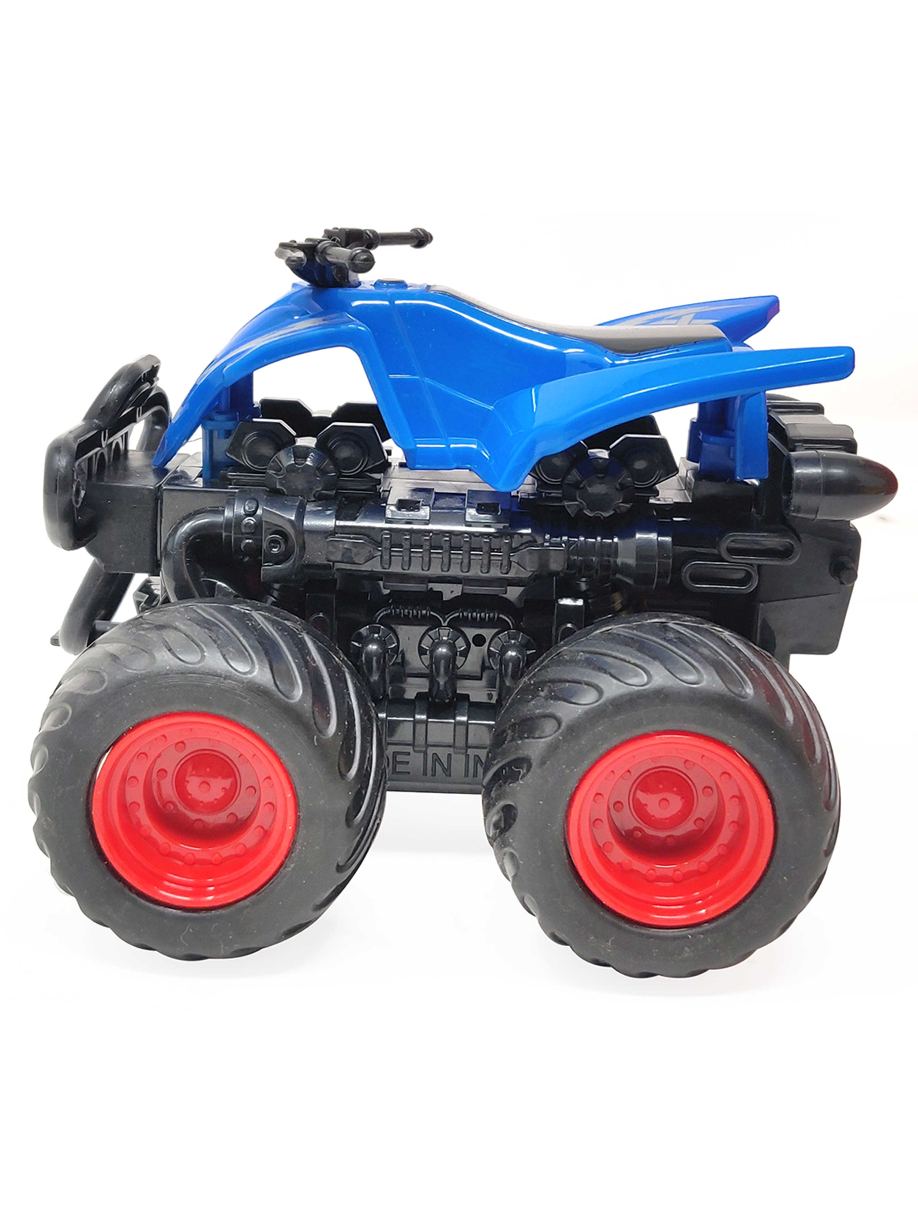 Friction Cars-Motorcycle-Blue