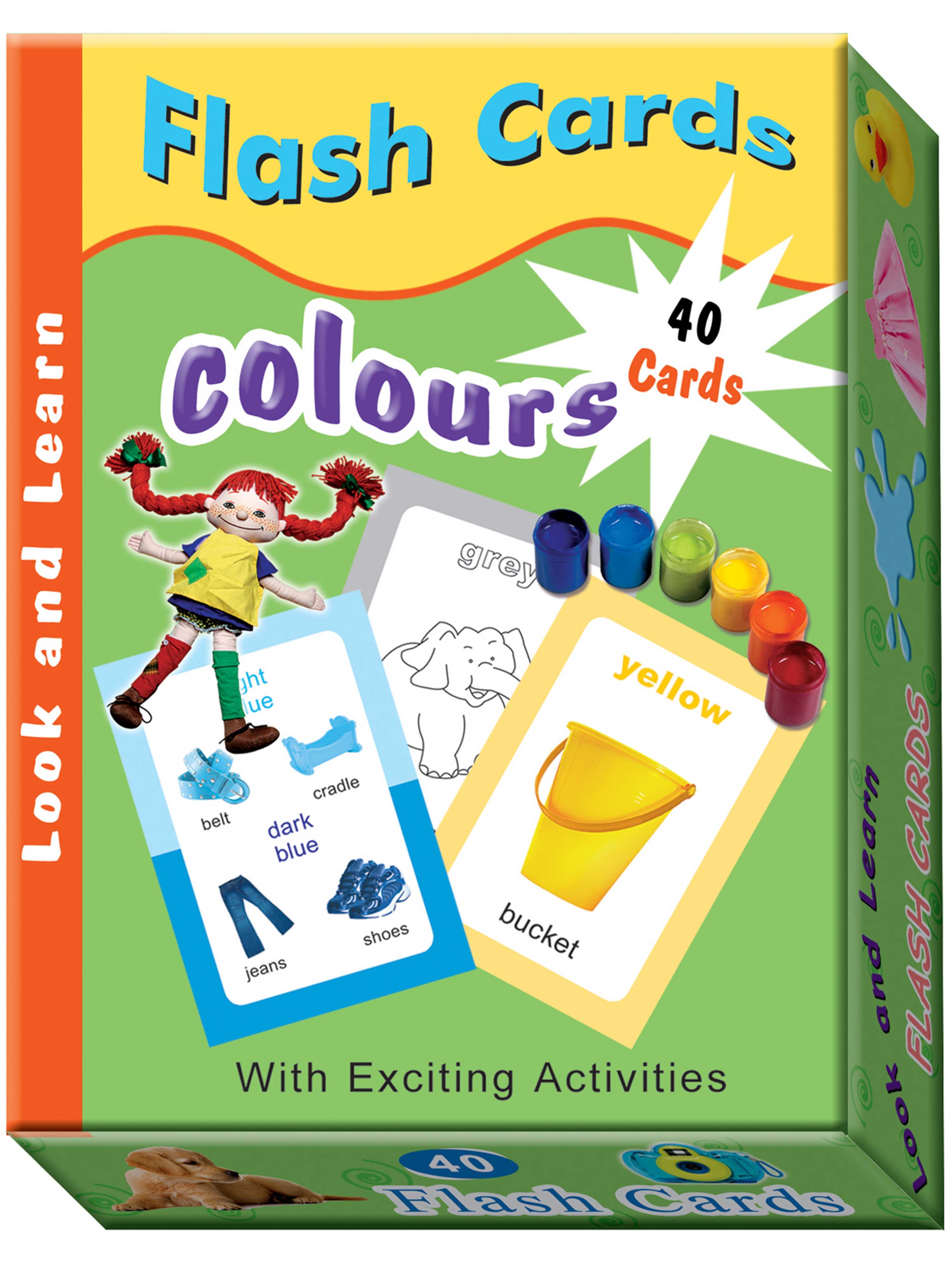 Flash Cards - Colours