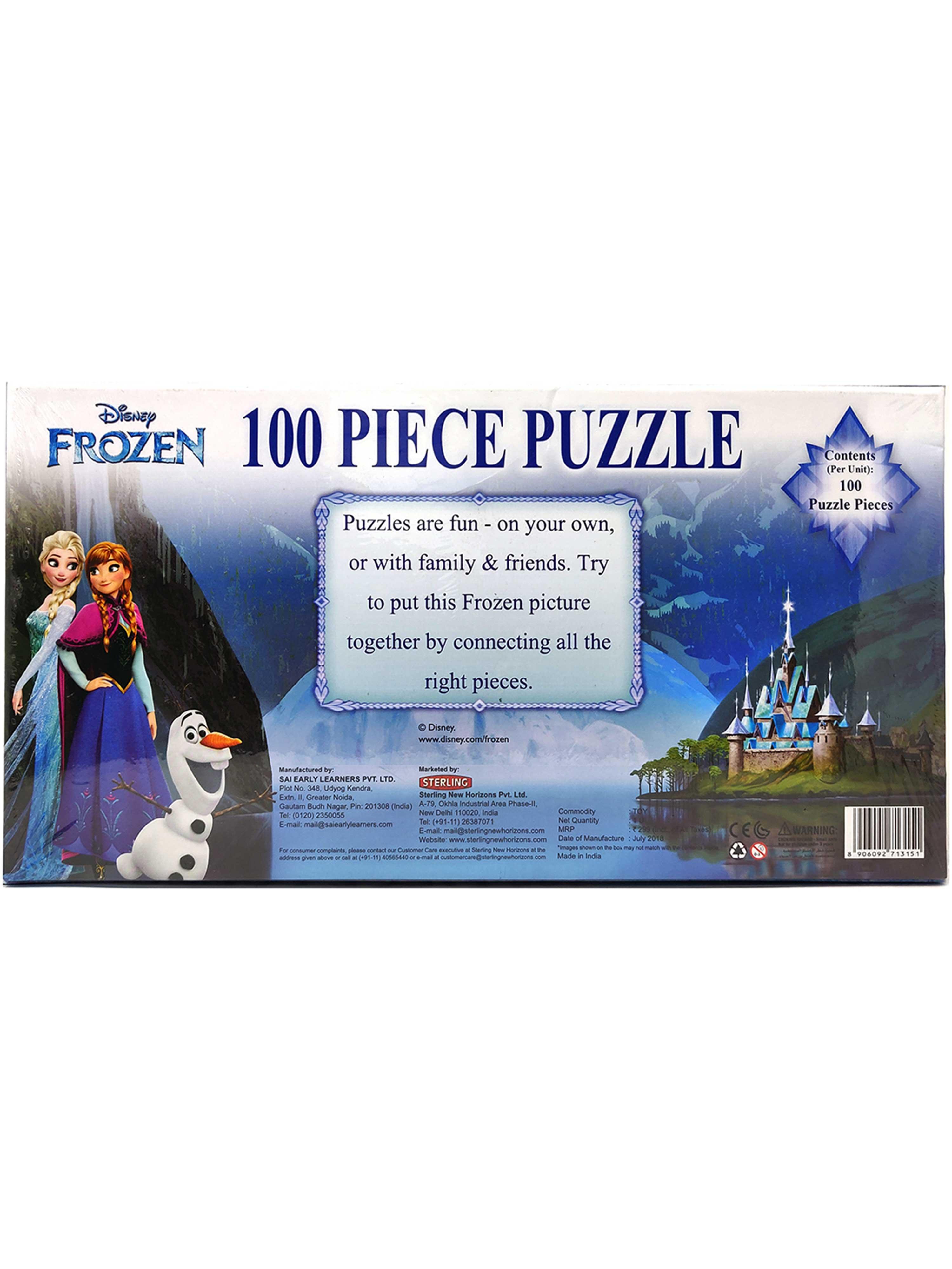 Disney Frozen 100 Piece Puzzle