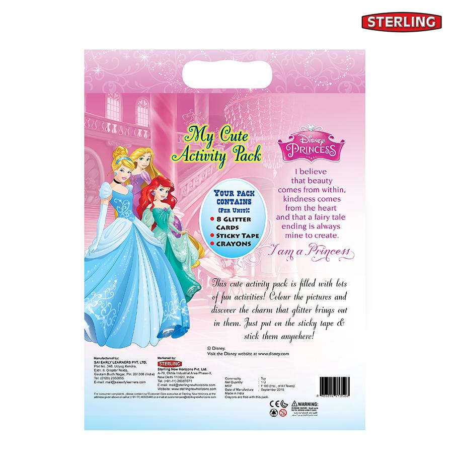 My Cute Activity Pack Princess Glitter