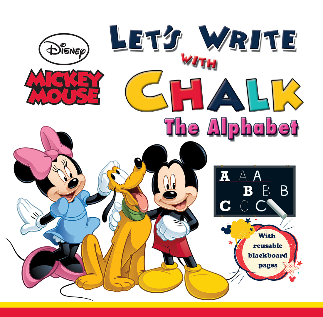 Mickey Mouse Let's Write with Chalk