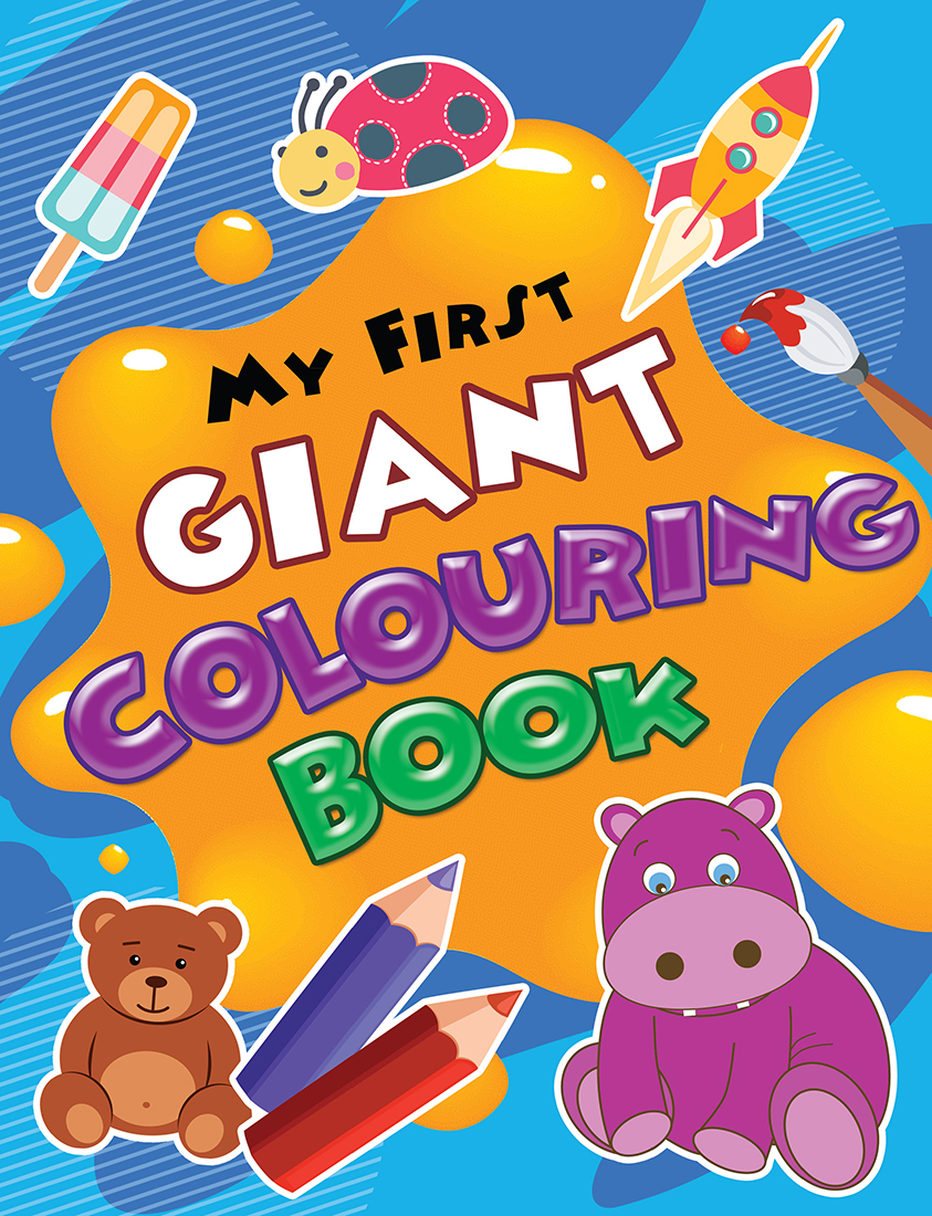 My First Giant Colouring Book