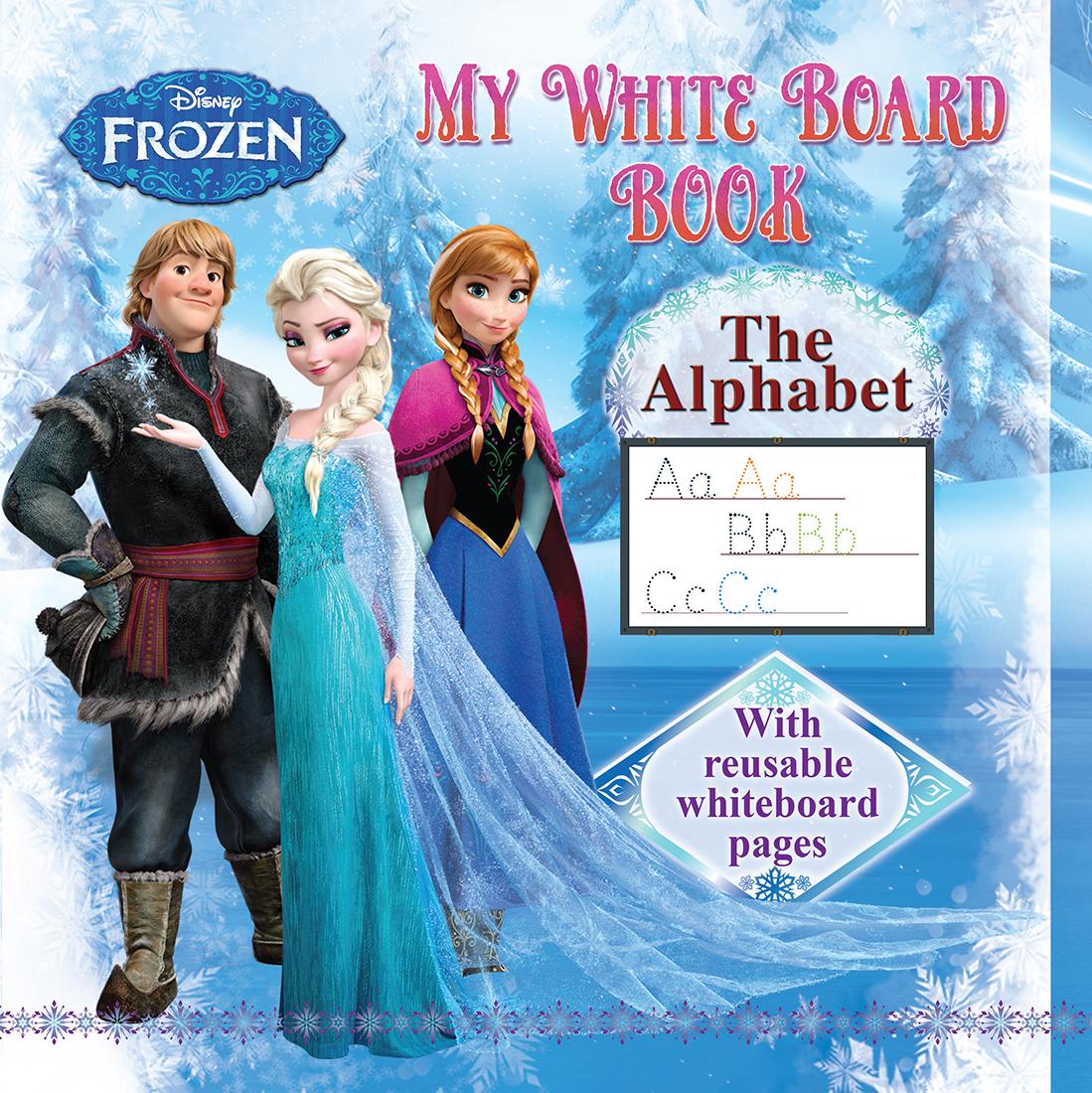 Disney Frozen My White Board Book
