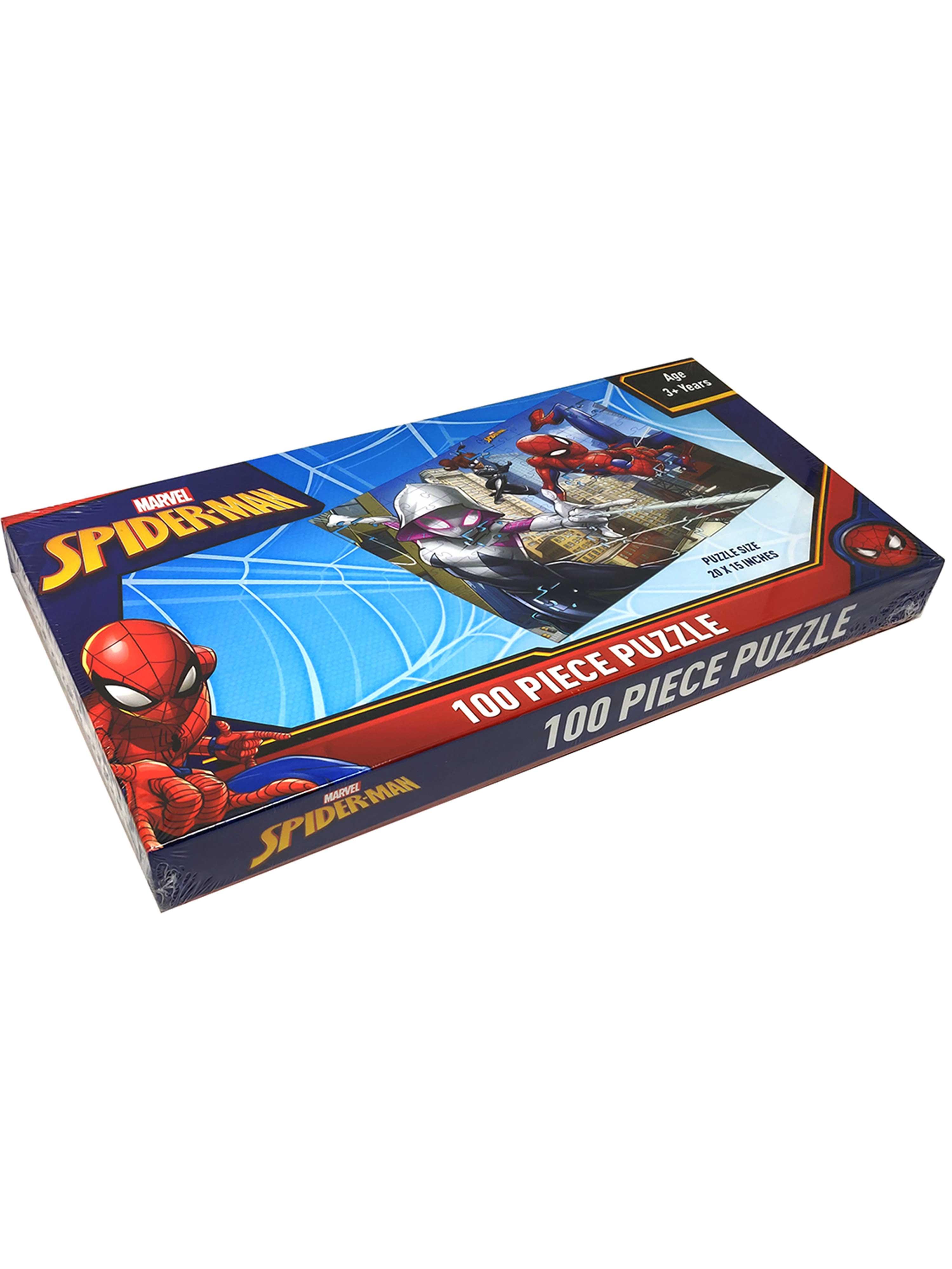 Marvel Spiderman 100 Piece Puzzle