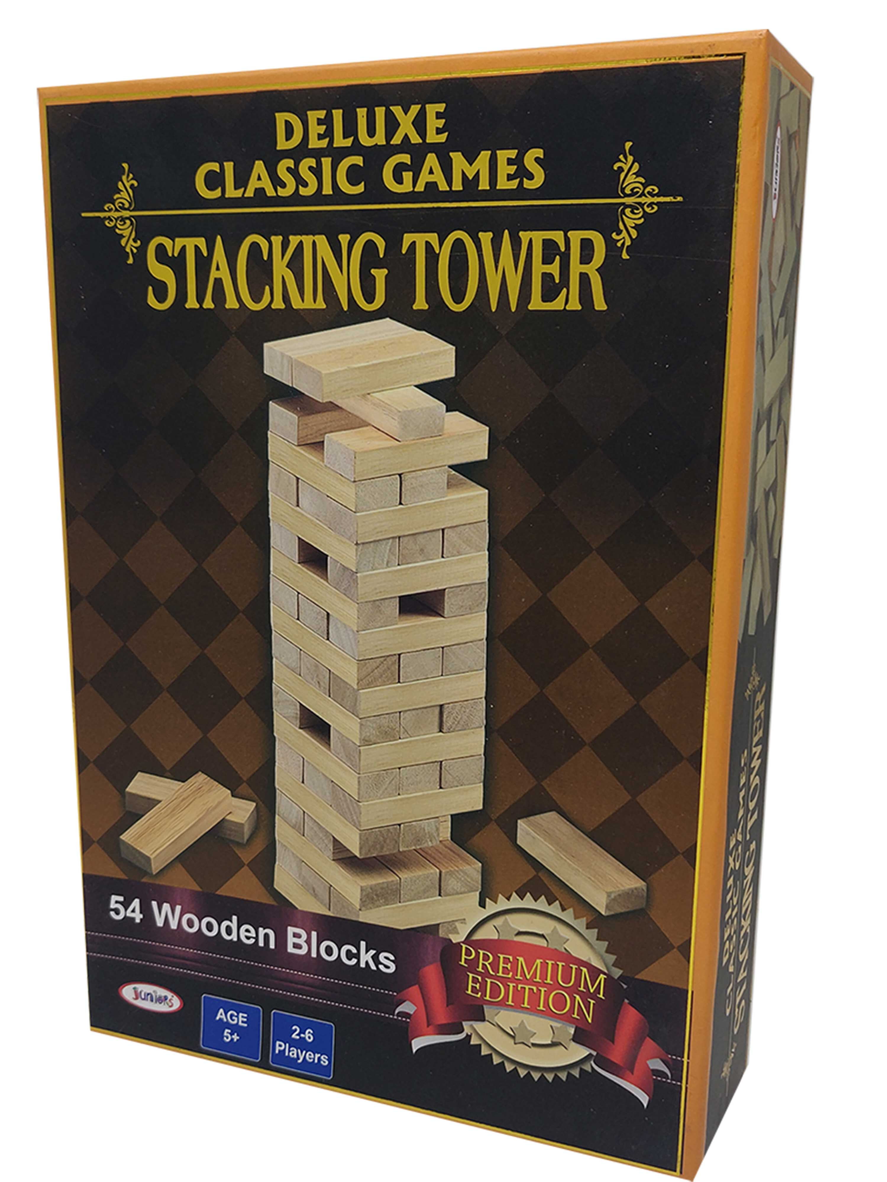 Deluxe Classic Games-Stacking Tower